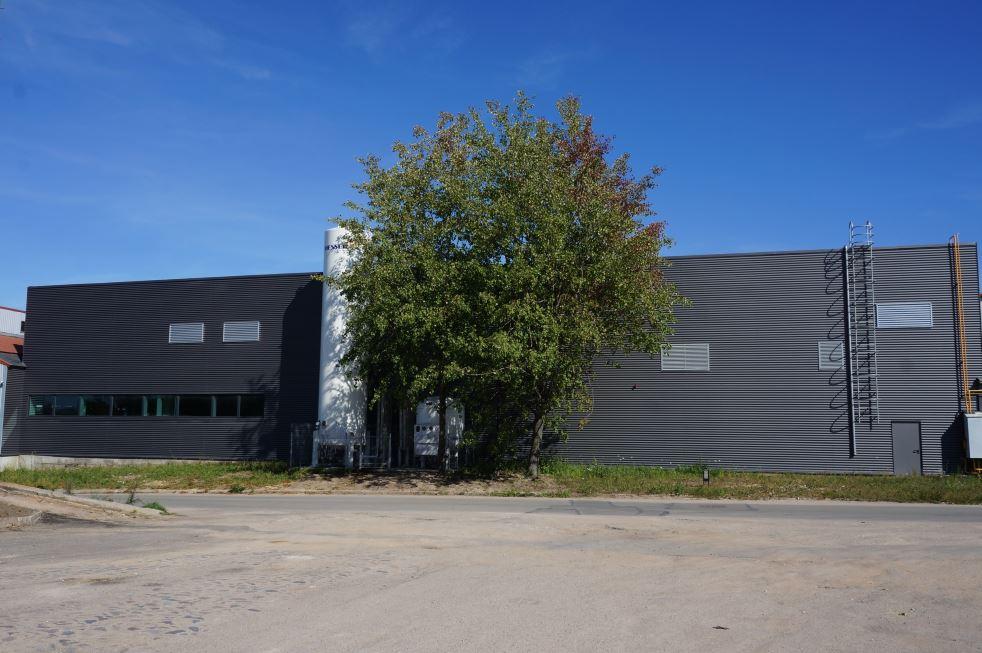 Šildymo ir vėdinimo įrangos gamybos pastato dalies rekonstravimas